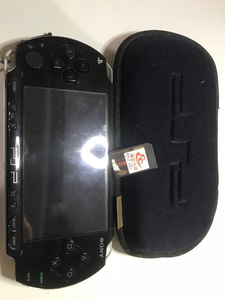 PSP-1007 2g記憶卡以刷機