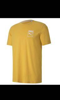 PUMA 流行系列Box Logo短袖T恤