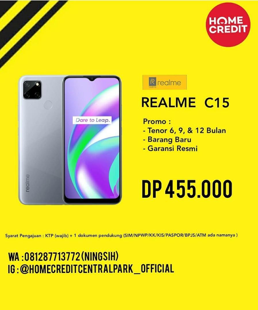 Realme C15 Kredit Tanpa CC DP 455 Rb Jakarta Barat