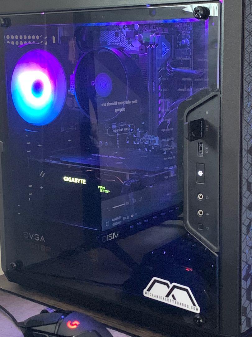 RX 570 Gaming PC ( Full Setup)