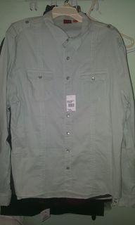 Saks Fifth Ave. Button up