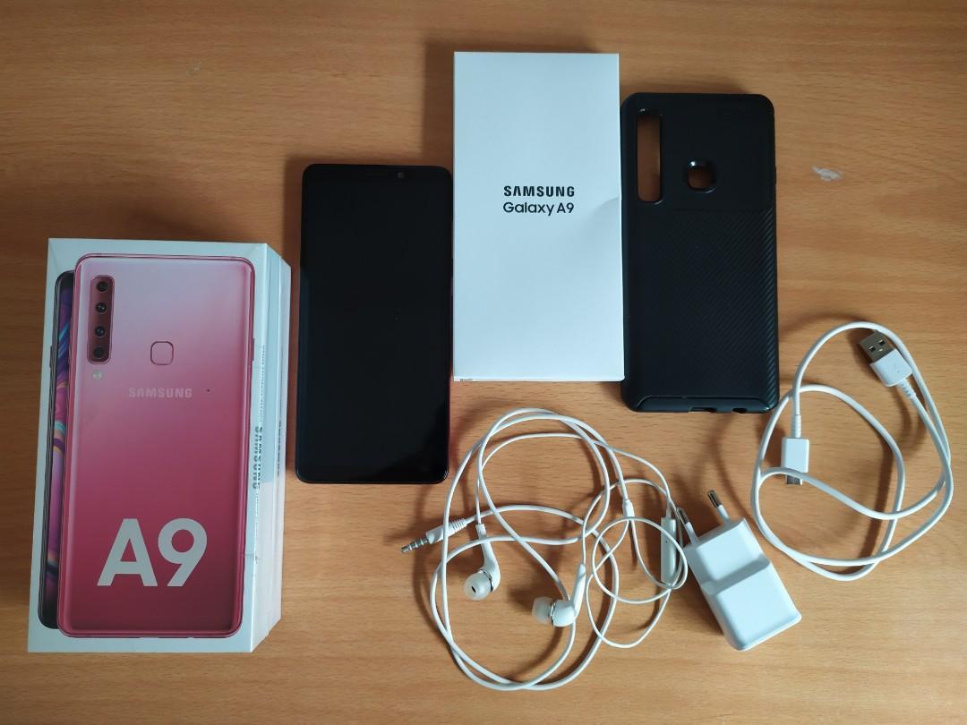 Samsung A9 2018 Bubblegum Pink 6/128GB Fullset MULUS