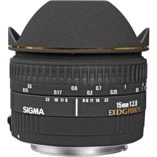 Sigma 15mm f2.8 EX DG FISHEYE DIAGONAL For Nikon Kredit Tanpa CC