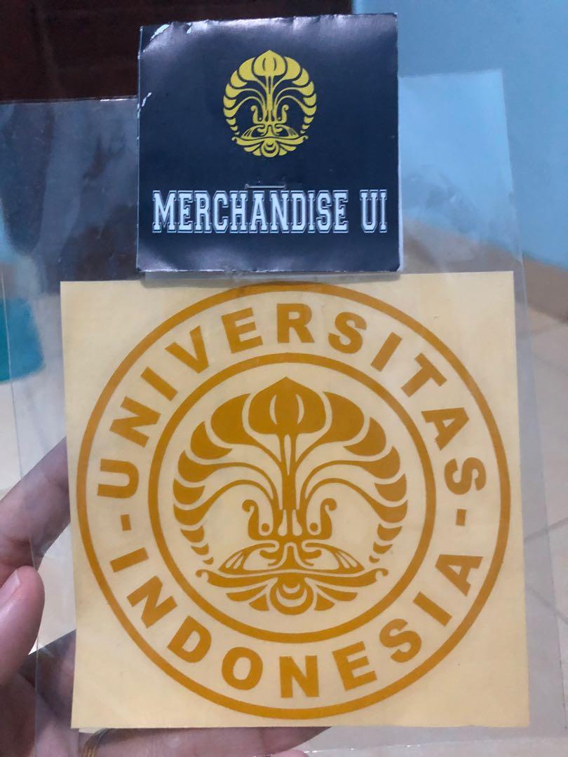 Stiker Universitas Indonesia ( UI )