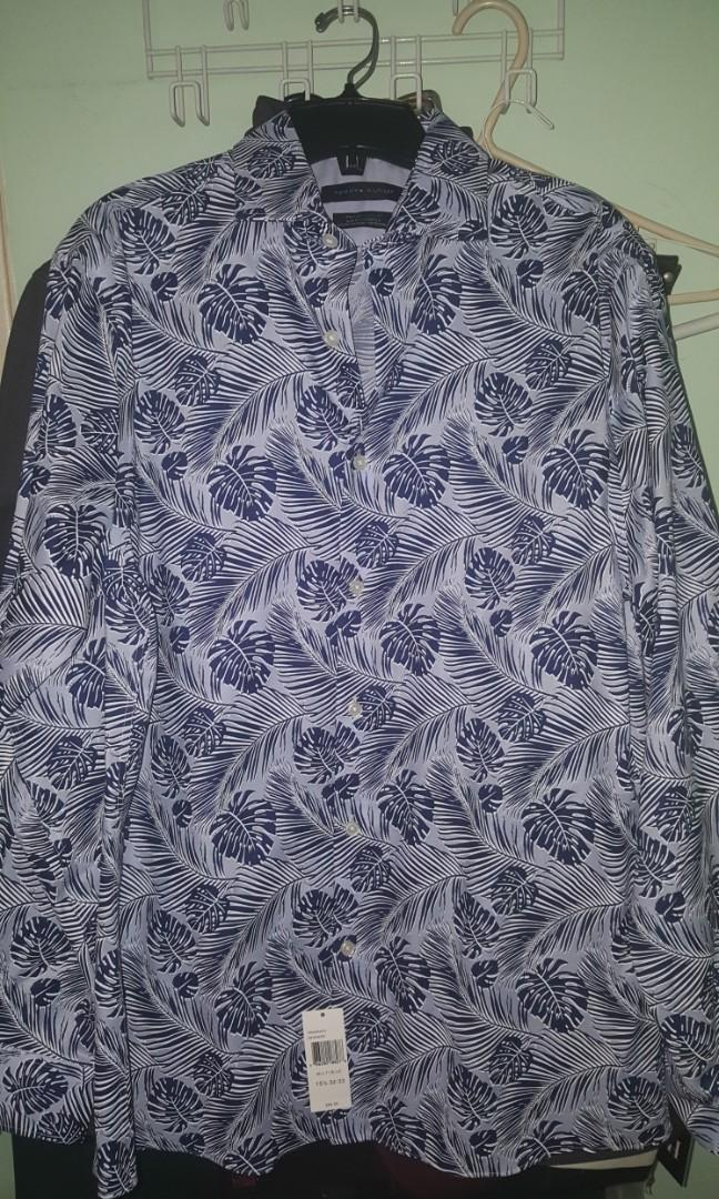 Tommy Hilfiger printed button up shirt