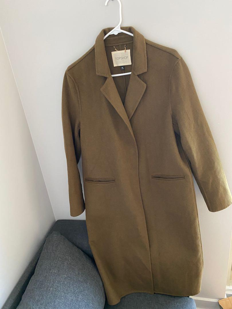 Topshop coat very good condition size m