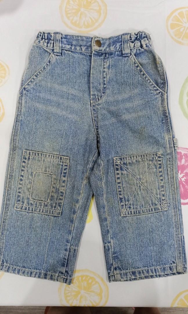 (T)Oshkosh牛仔褲-12M
