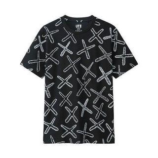 Uniqlo X Kaws 一代nigo短袖 T恤