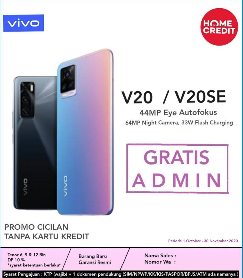 Vivo V20, Bisa Kredit Free 1x Cicilan