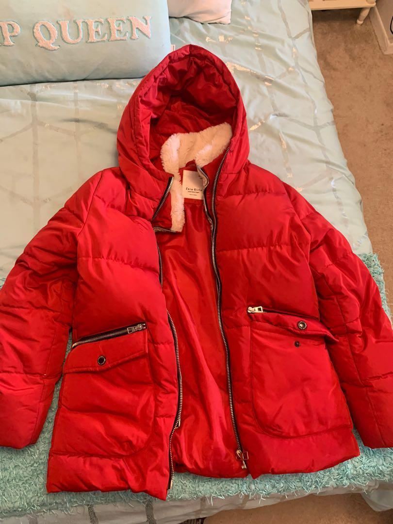 Zara winter jacket Size 13/14