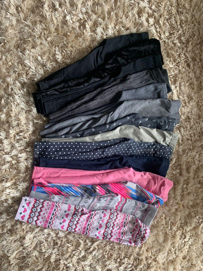 14 Assorted 3T Girls Long Pants