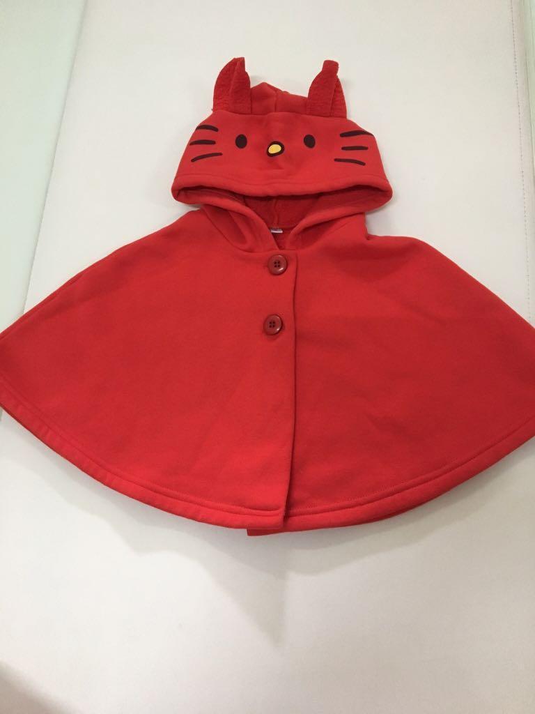 紅色貓咪🐱斗篷