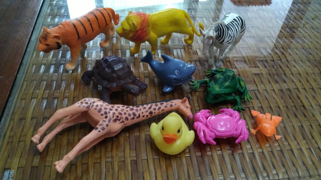 二手動物公仔模型