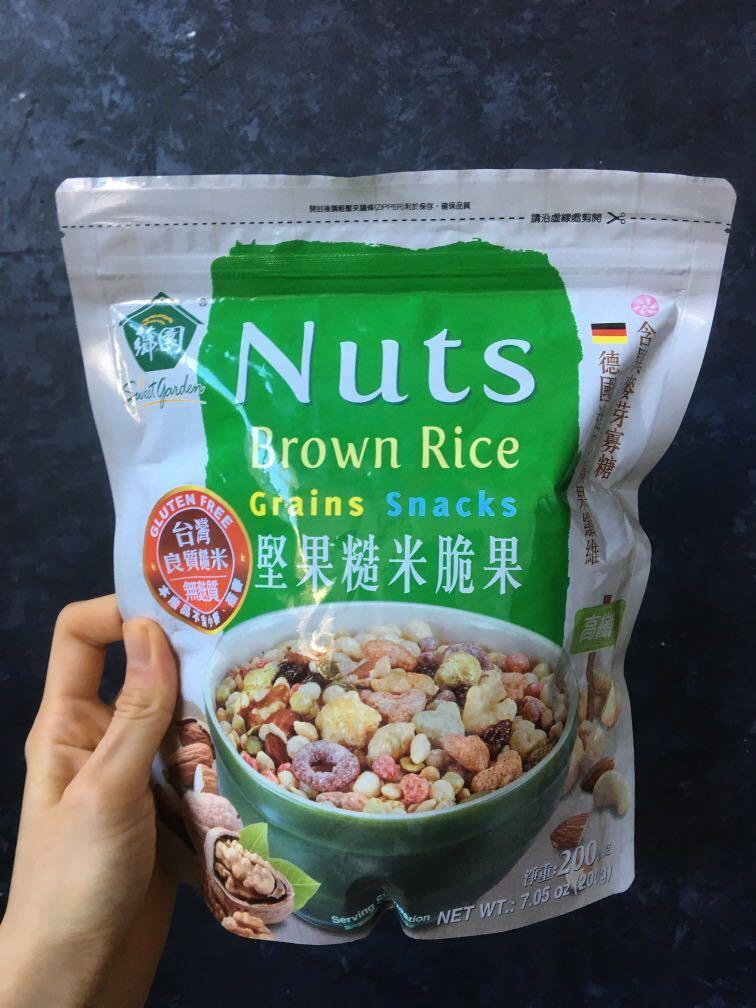薌園 堅果糙米脆果 200g