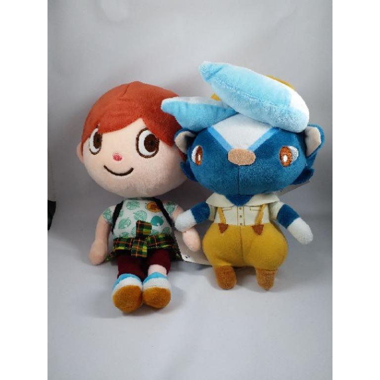 娃娃機戰利品~ 動物森友會  (2隻娃娃)