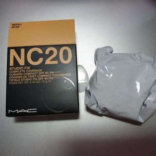 全新 Mac 超持妝氣墊粉餅蕊 N20