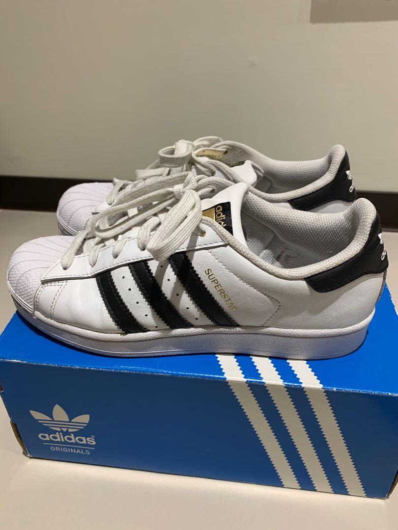 Adidas superstar 金標8.5成新