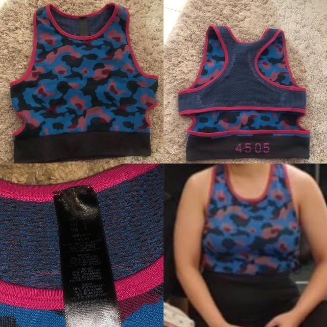 Asos Sports Bra Cotton Knit size L
