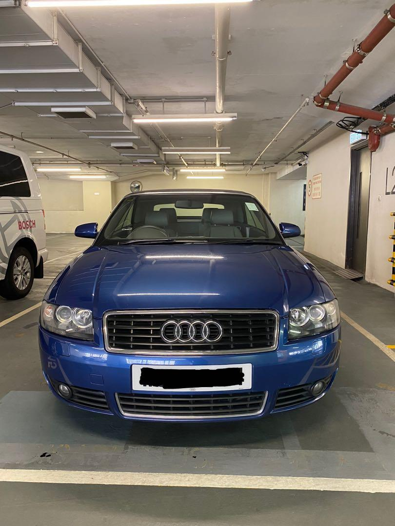 Audi A4 Cabriolet 1.8 Turbo (A)