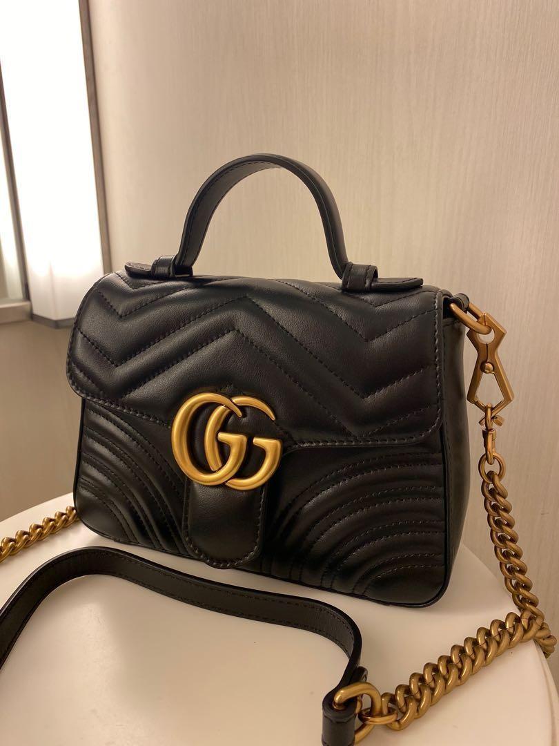 Authentic Gucci Mini Top Handle
