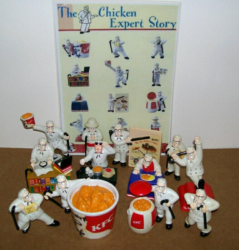 Awesome KFC Collectibles