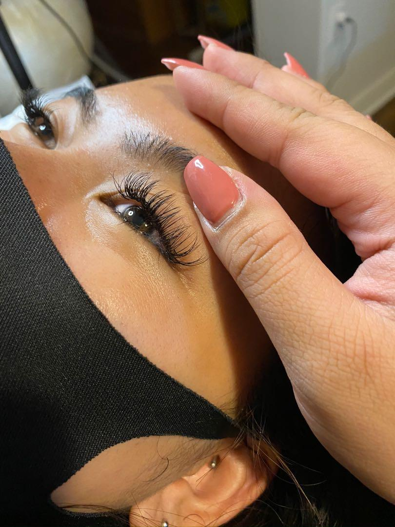 classic eyelash extensions full set