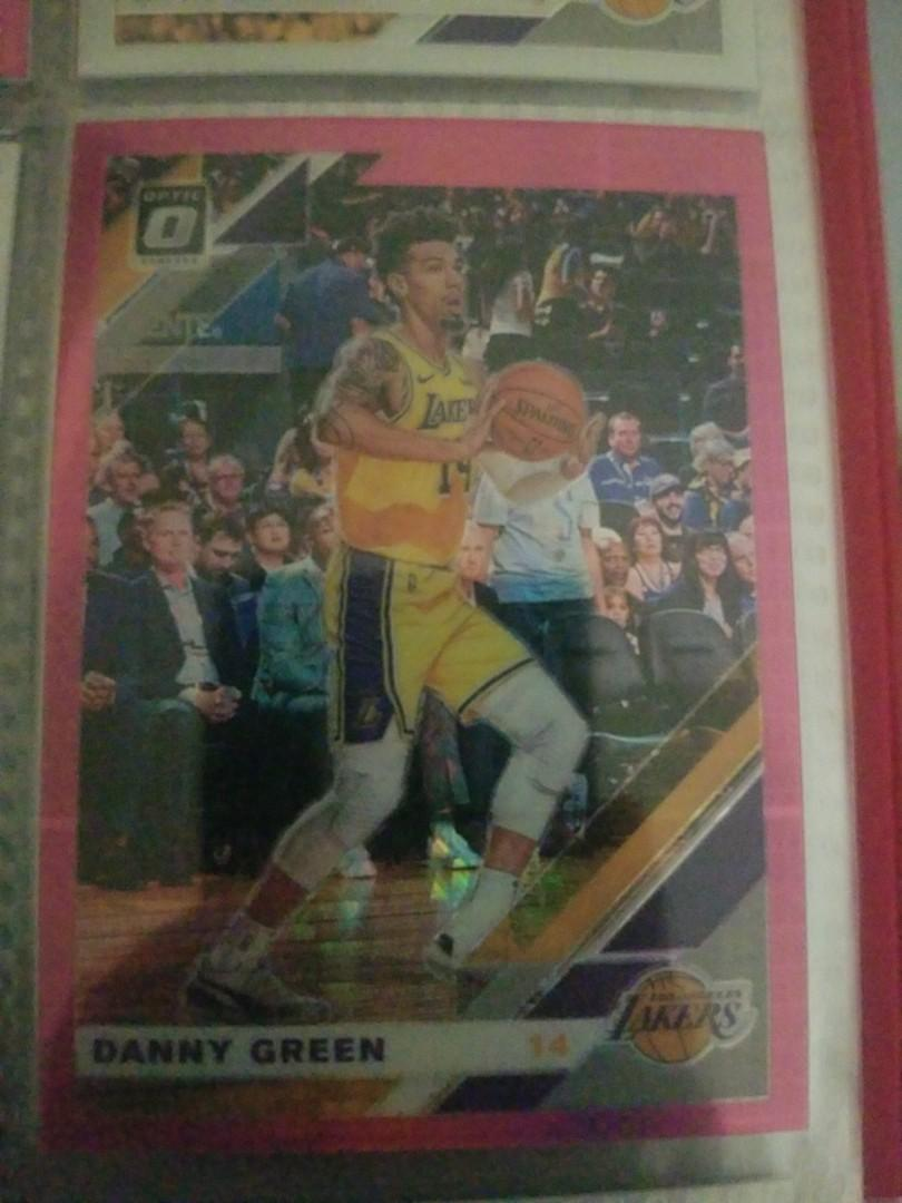 Danny green pink parallel card