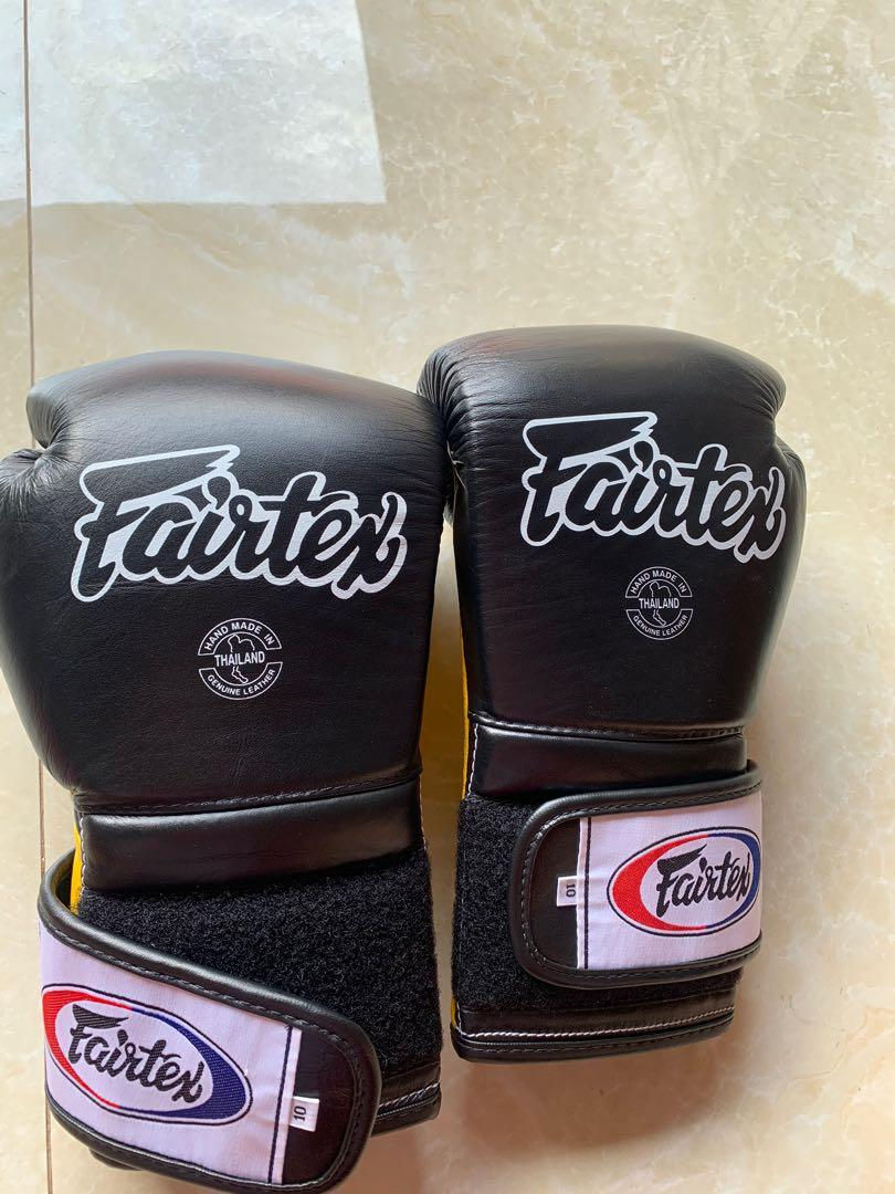 FAIRTEX MUAY THAI GLOVES 1x PAKE NEGO
