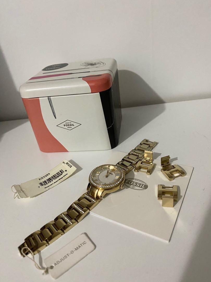 Fossil Gold Watch (adjust-o-matic)