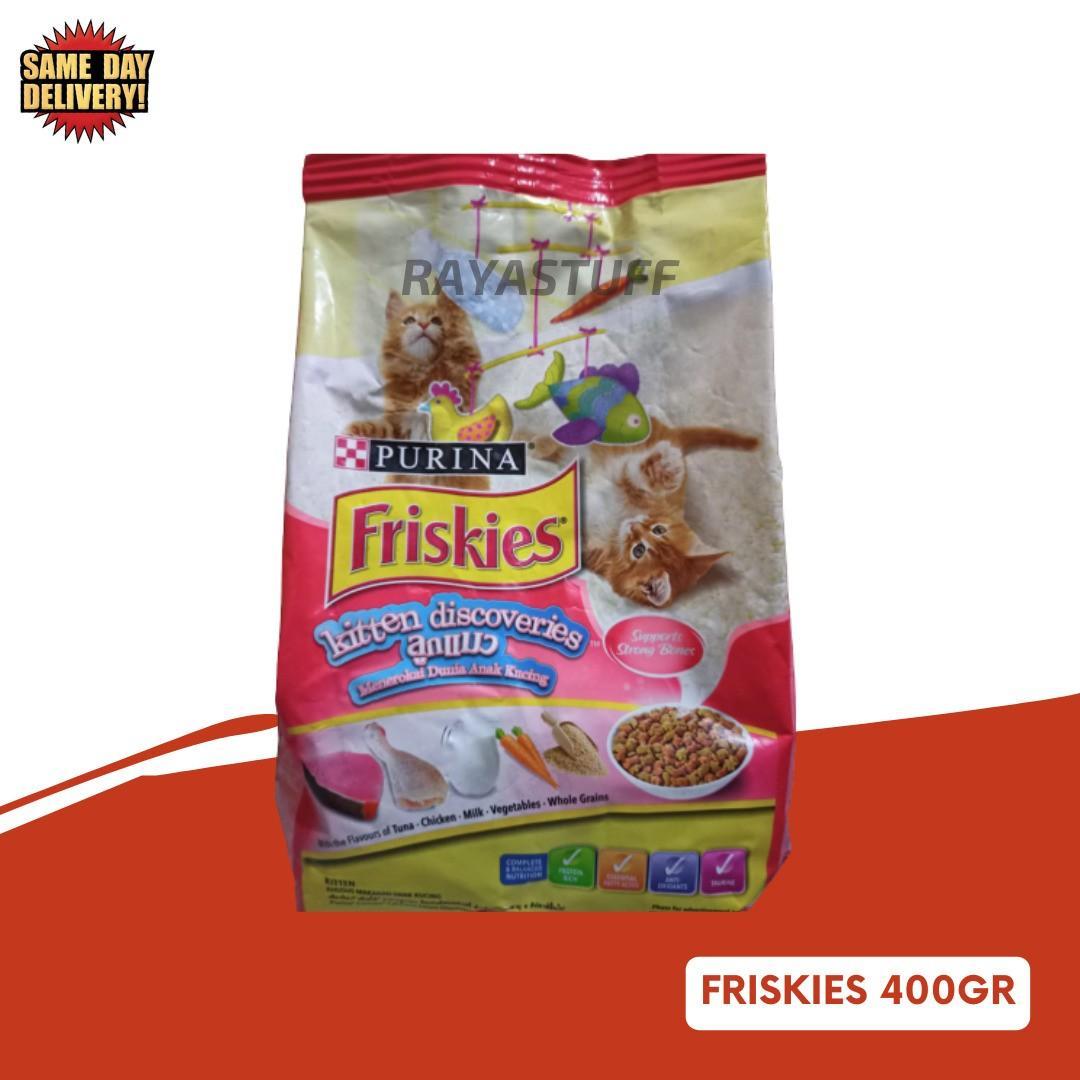 Friskies Kitten Discoveries 400 gram Dry Cat Food / Makanan Kucing Purina