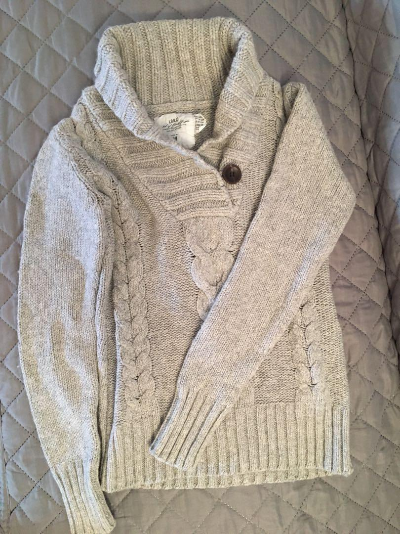 H&M grey sweater for kids 10-12y