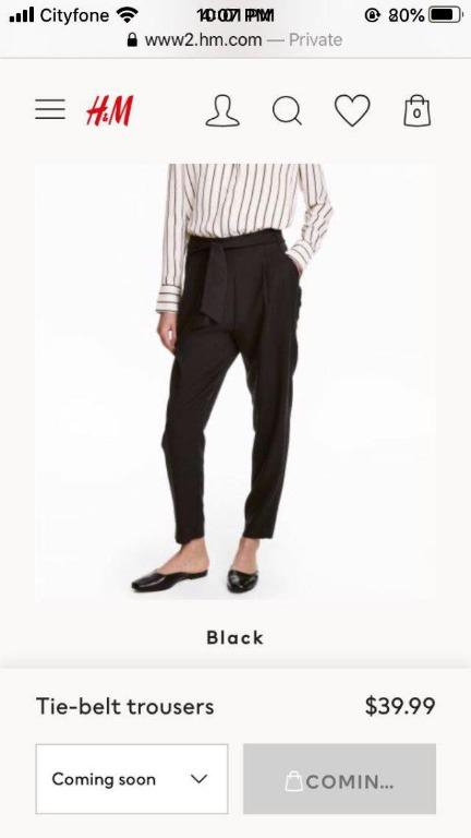 H&M Trousers (0)