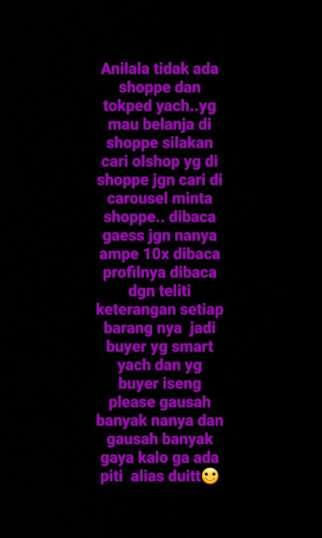 Info for buyer