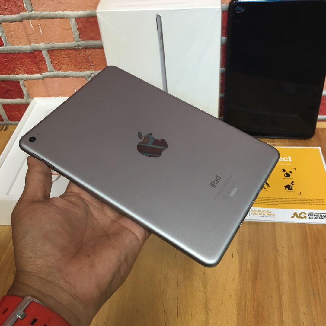 Ipad mini 4 128gb grey wifi only super mulus