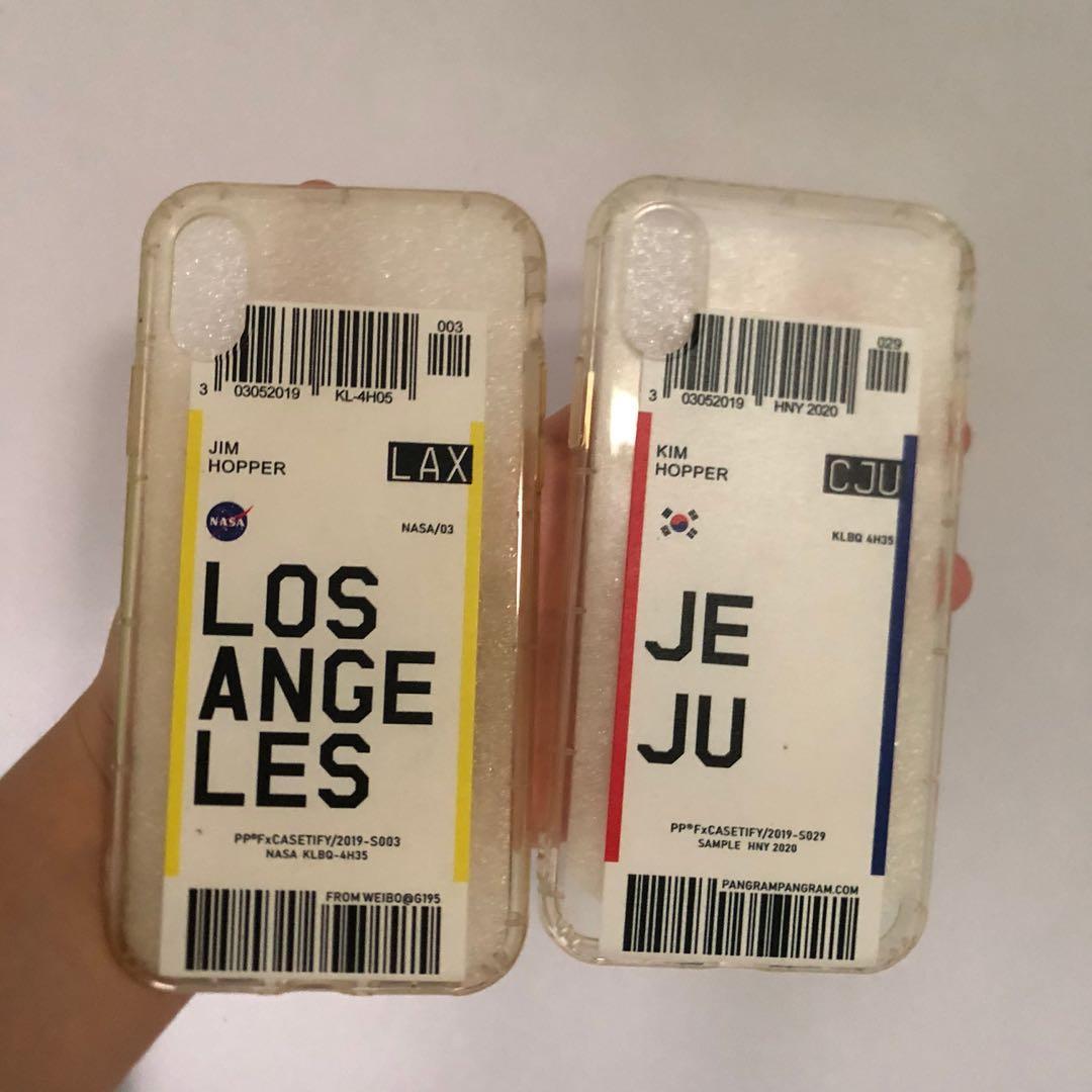 iPhone X Phone Case (Jeju & Los Angeles)