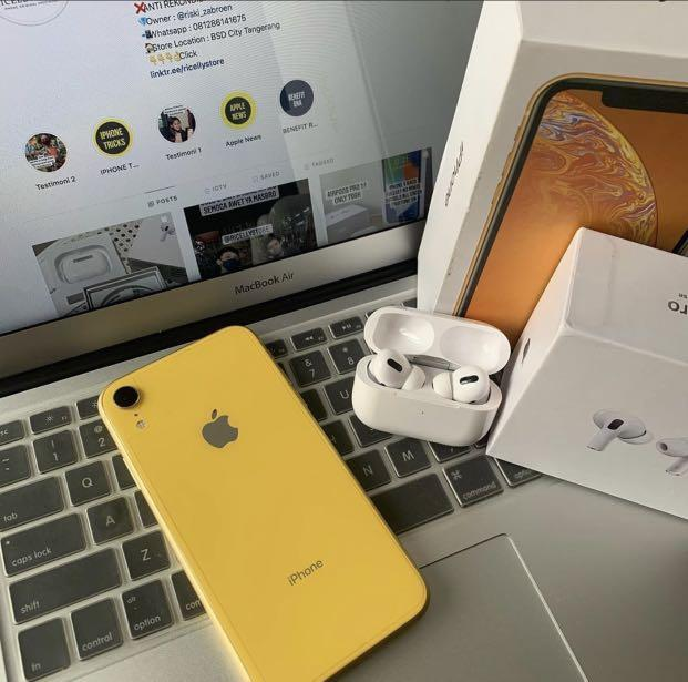 Iphone xr 128gb ibox full ori