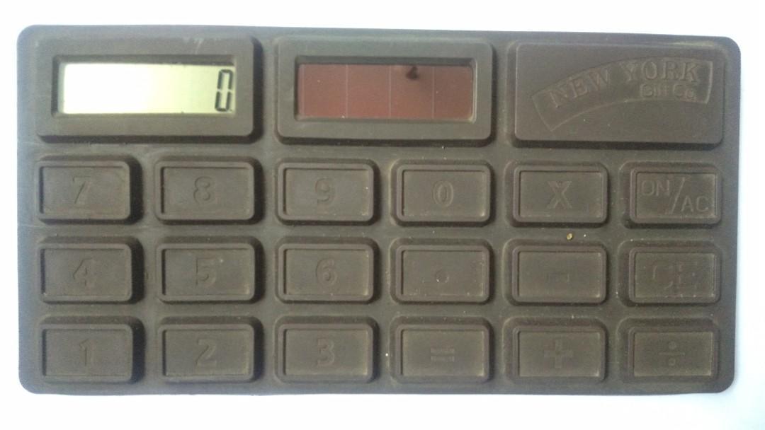 Kalkulator model Coklat batang