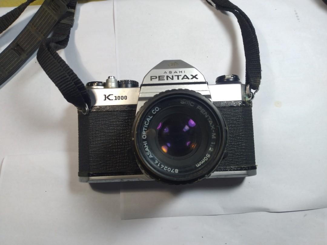 Kamera Analog Pentax K1000 BU