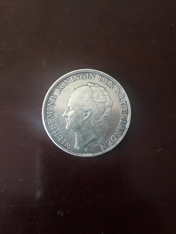 Koin lama perak 2 1/2 golden thn 1930 langka