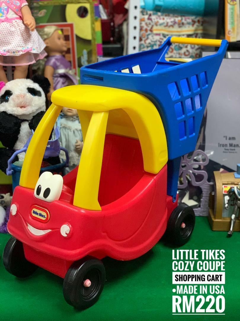 Little Tikes Cozy Coupe Shopping Cart Babies Kids Toys Walkers On Carousell