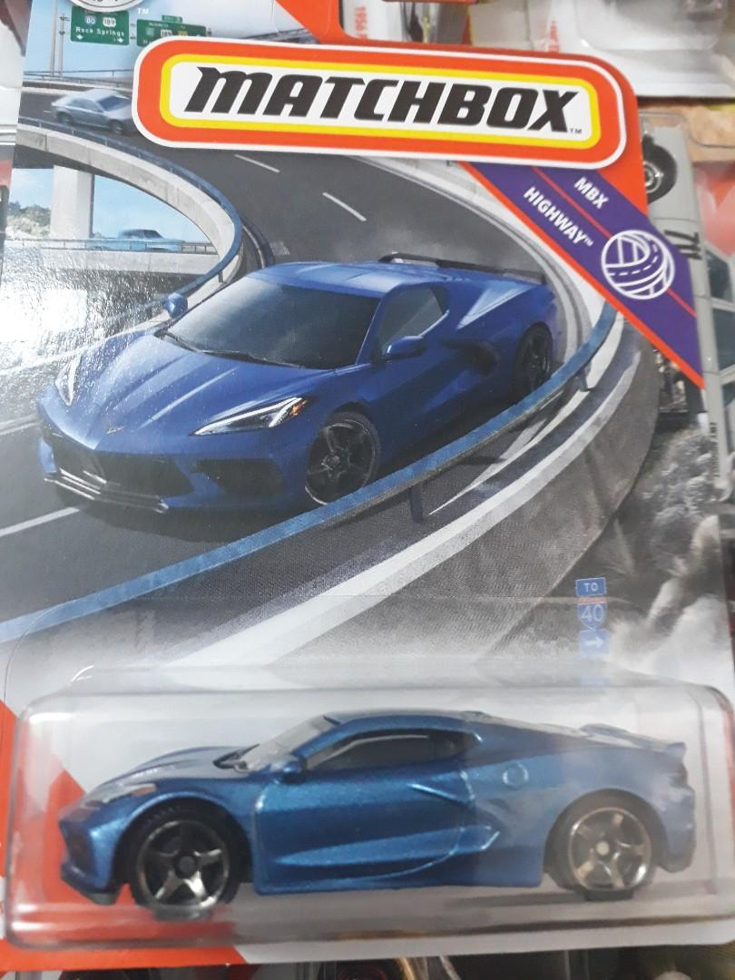 Matchbox 20 Corvette C8 Toys Games Diecast Toy Vehicles On Carousell