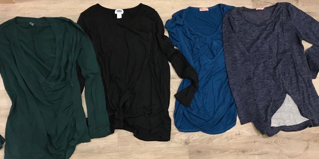 Maternity and nursing clothes lot