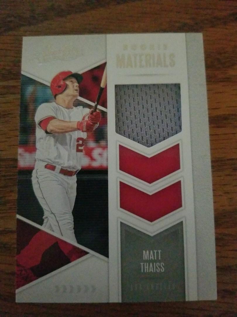 Matt Thais rookie relic card