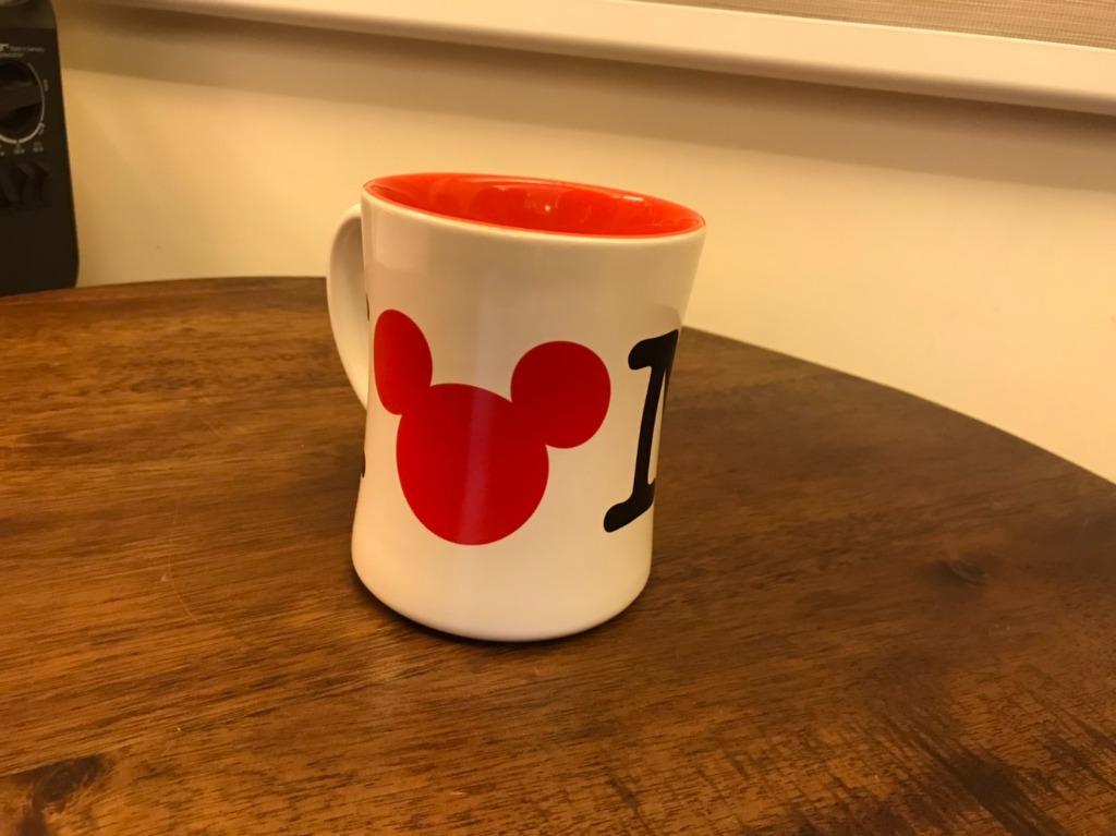 MICKEY MOUSE 16 oz I LOVE NY 馬克杯 Disney 迪士尼