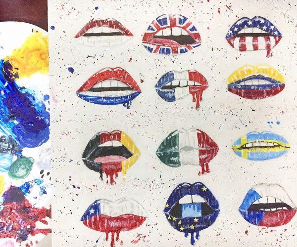 Nationally Acrylic Painting