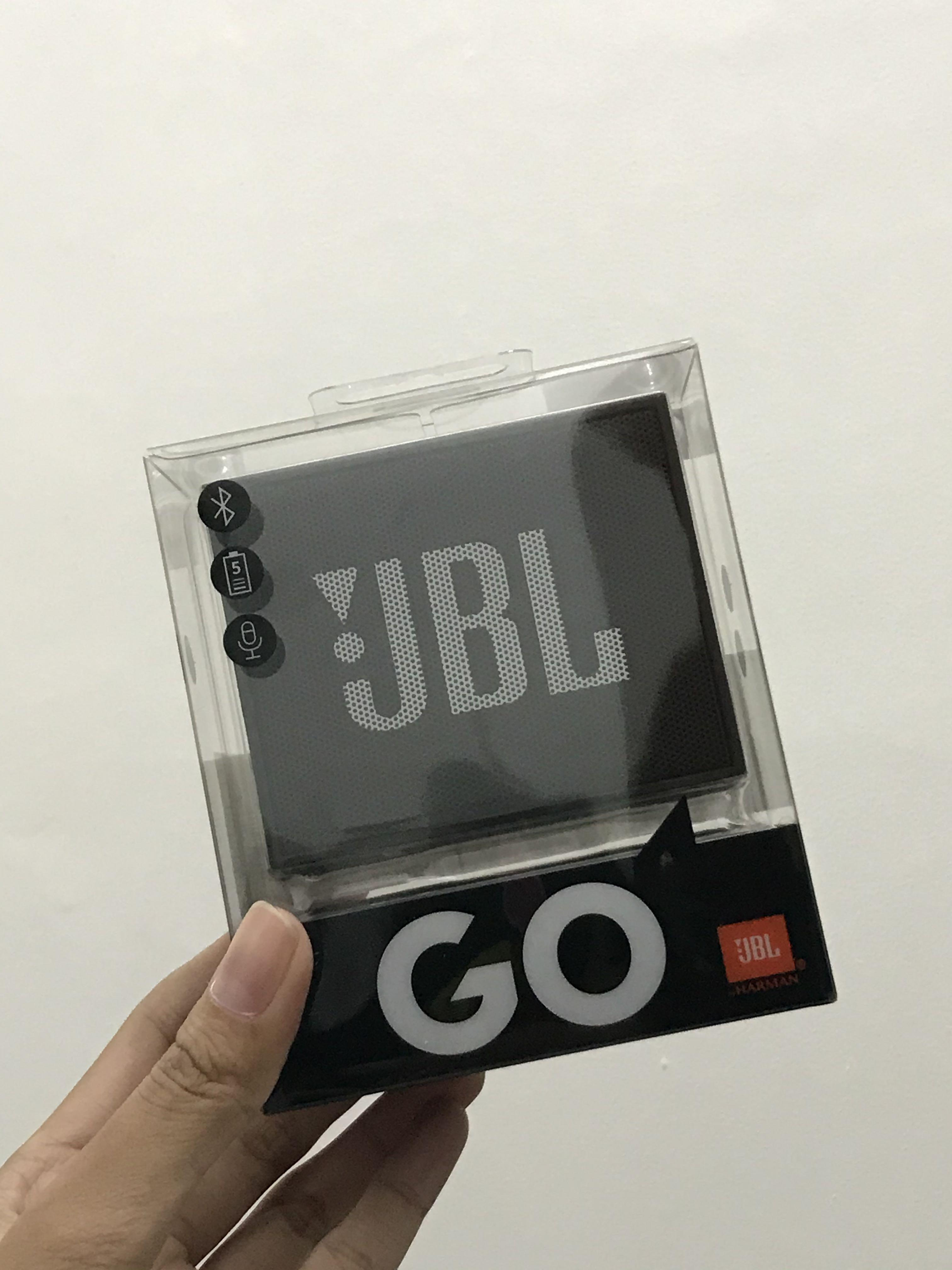 NEW Original Bluetooth Speaker JBL GO Black