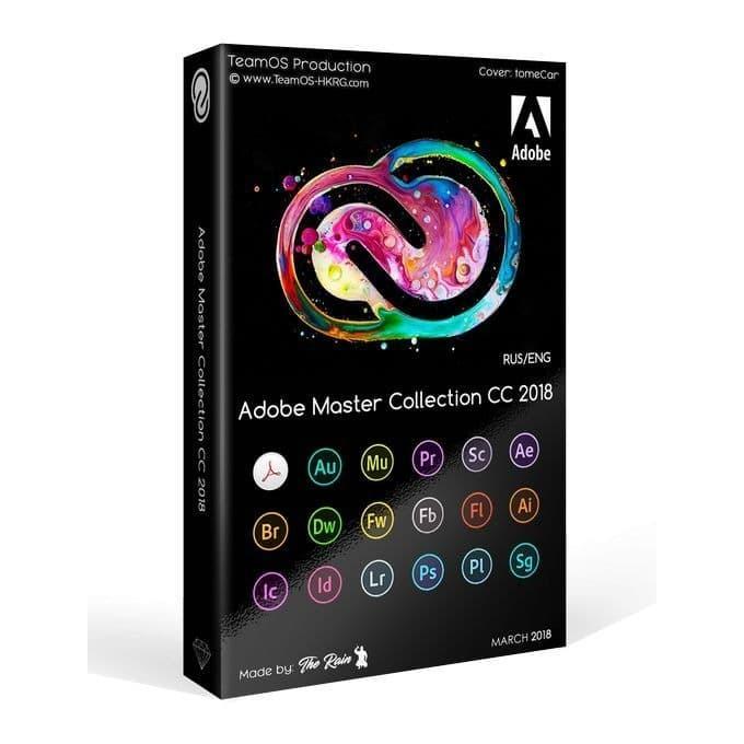 Paket 17 Aplikasi Adobe Master Collection Creative Cloud 2020 Windows
