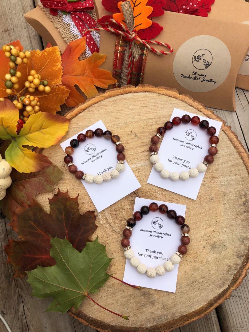 Pumpkin Patch Diffuser Bracelet