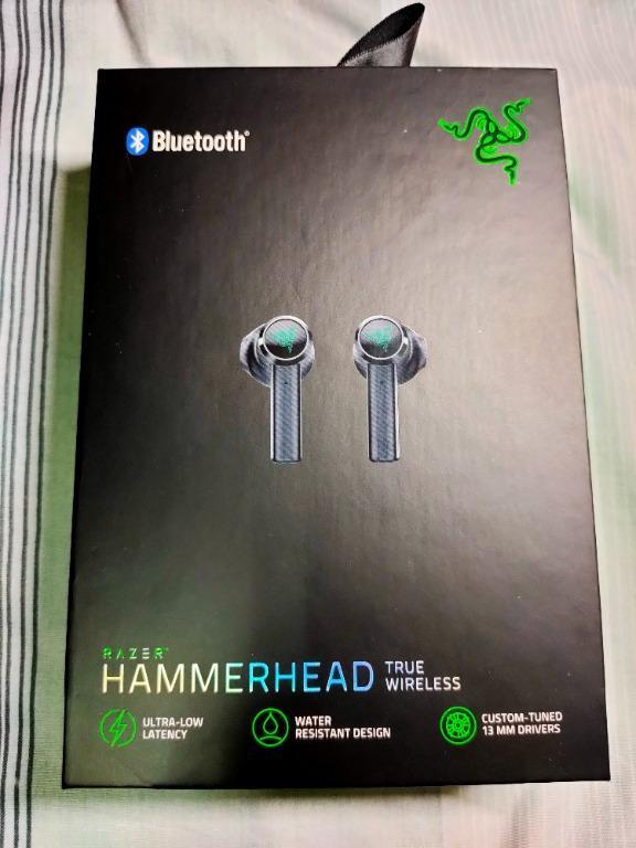 RAZER 雷蛇 Hammerhead True Wireless 戰錘狂鯊 真無線 藍芽耳機 無線耳機