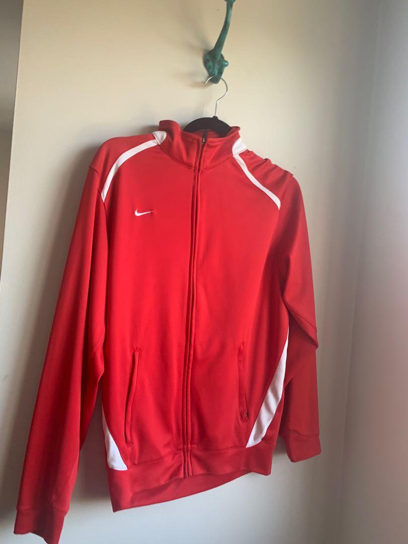 Red Nike Sweater